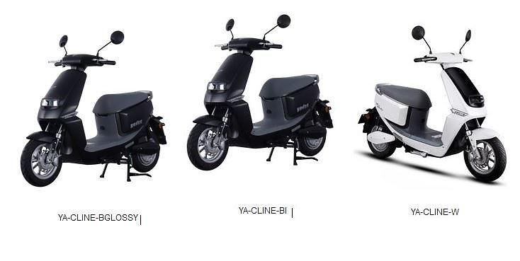 Vespa Electric Scooter >> Yadea C Line Electric Scooter J J Loukko Oy